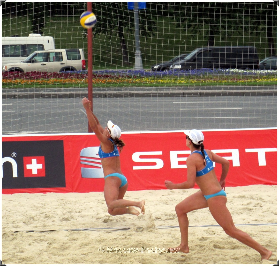 BEACH VOLLEYBALL RECEIVING TEAM  - Vicky Arvaniti and Maria Tsiartsiani