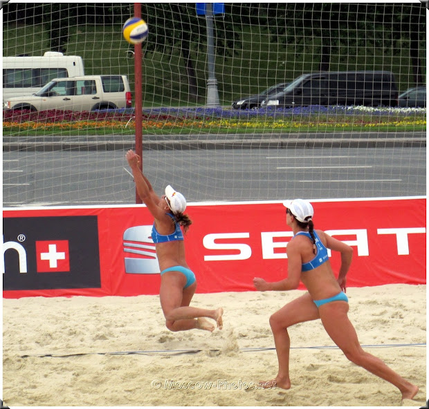 Fivb Beach Volleyball Swatch World Tour. Grand Slam Moscow