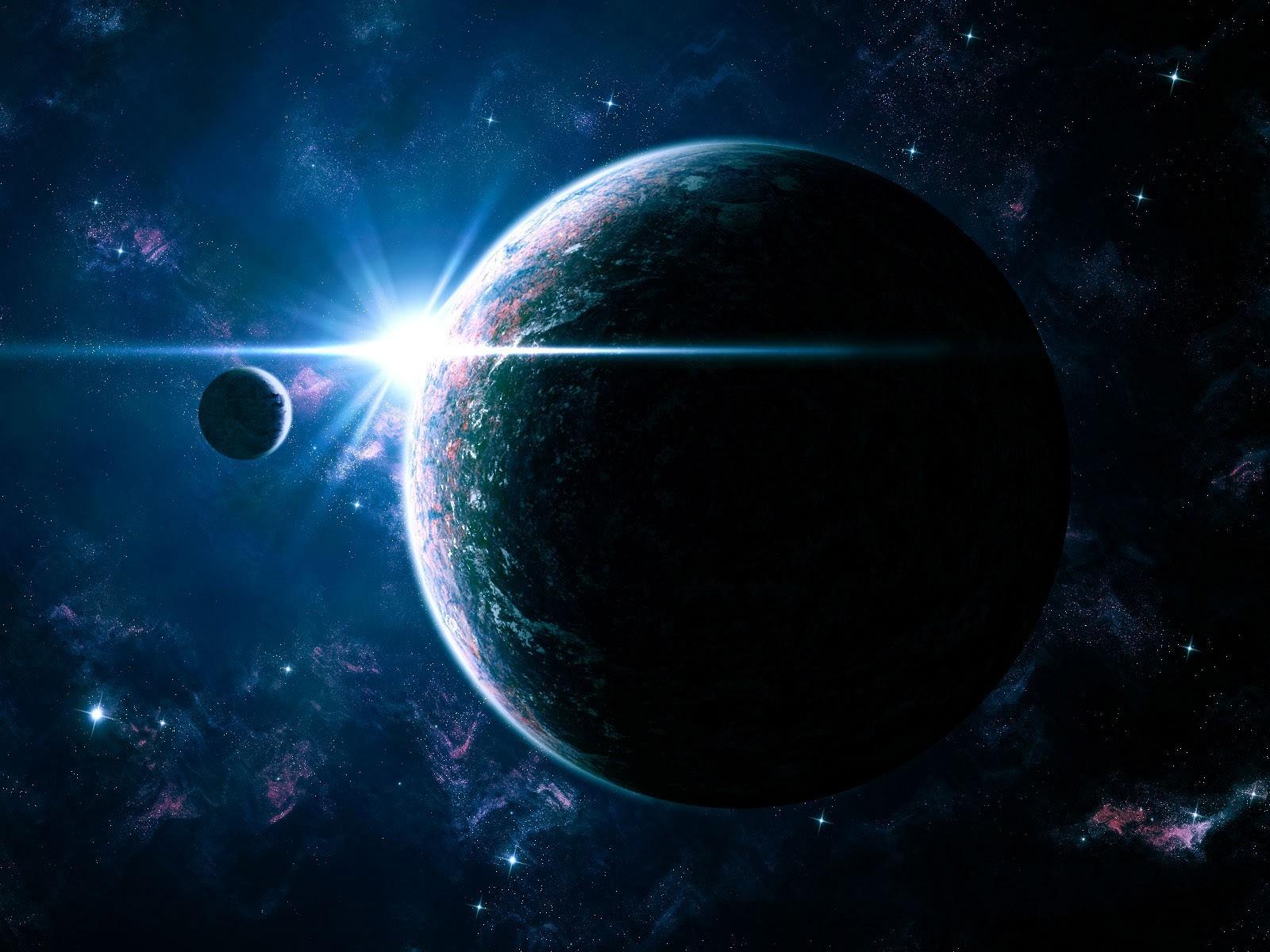 40 Gambar Fantasi Luar Angkasa Super Keren
