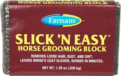 Free Slick N' Easy Horse Grooming Block