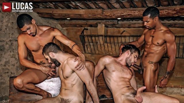 Seriously Hard Fucking – Rough Double Penetration – Zander Craze, Jacen Zhu, Wolf Rayet & Ibrahim Moreno