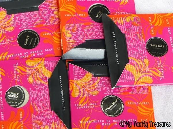 Makeup Geek Eyeshadow Swatch
