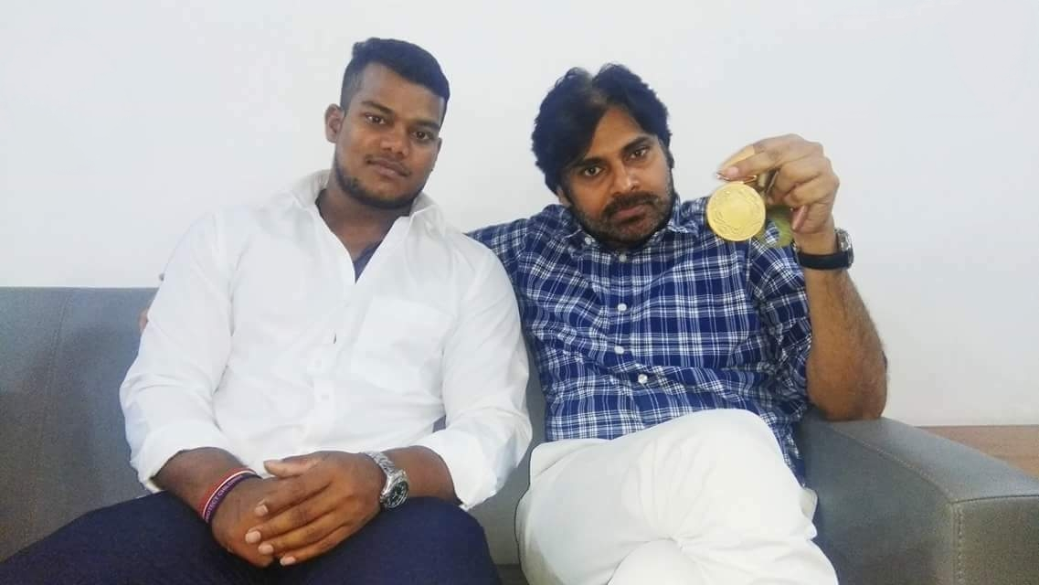 Pawankalyan with Rahul