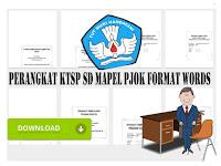 Perangkat KTSP SD Kelas 6 Mapel PJOK Format Words