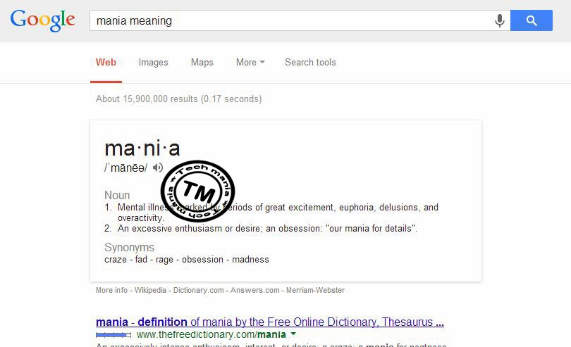 Use Google Differently - Dictionary