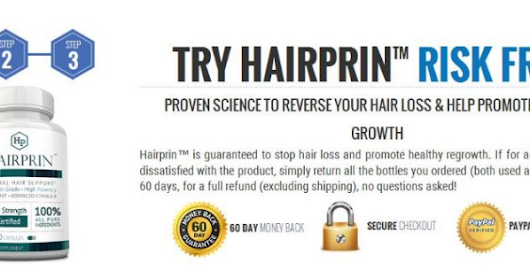 Control Hair Loss with Hairprin - Healthy Mini Market