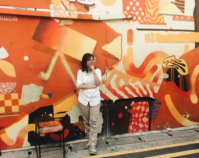 Mural di Haji Lane, Singapore
