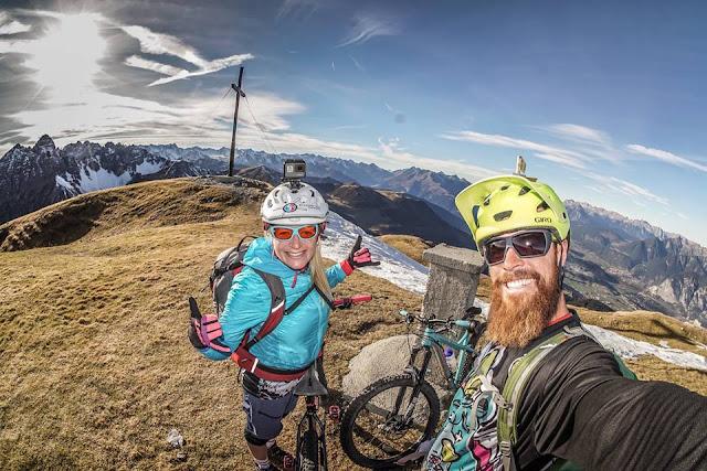 Gipfelsieg Saile Mountainbike Tour