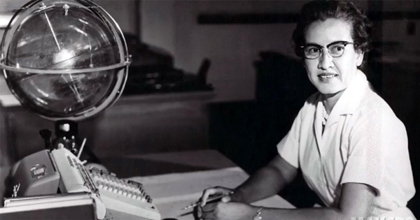 Katherine Johnson played an integral role in calculating and analyzing the flight paths of various spacecraft (from the Mercury capsule to the space shuttle) during her more than three decades at NASA.