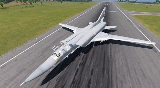 Arma3用爆撃機MODのTu-22M Backfire爆撃機