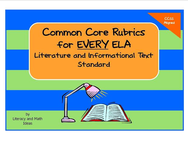 Common Core Math Rubrics