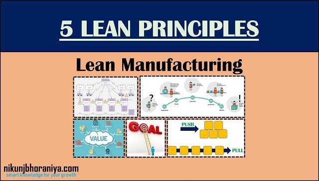 Five Lean Principles | Lean Manufacturing