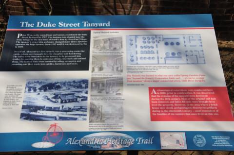 Duke Street Tanyard, Alexandria West End