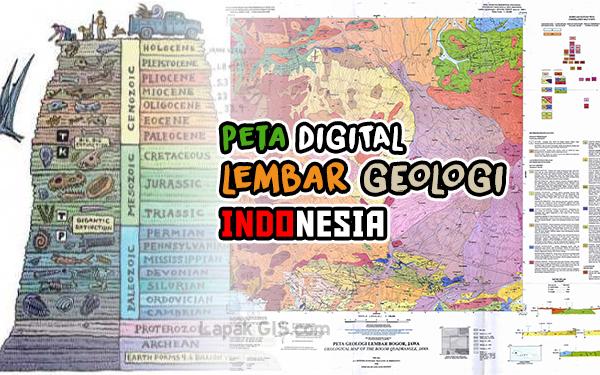 Data Peta Digital Lembar Geologi Indonesia Lengkap