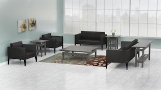Gray Reception Tables