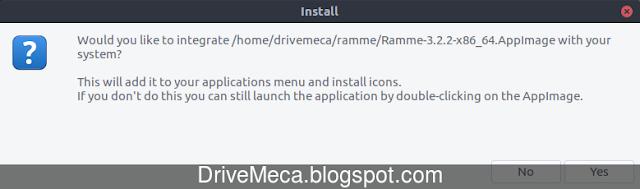 Instalando Ramme en Linux Ubuntu