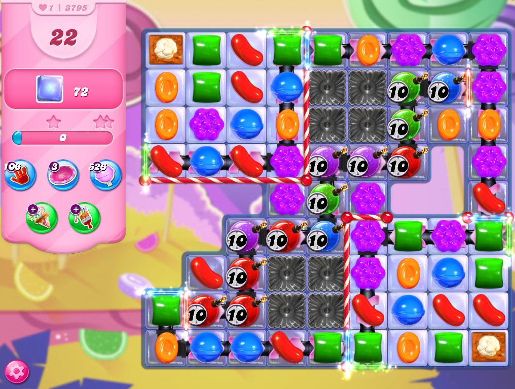 Candy Crush Saga level 3795