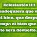Eclesiastés 11:1
