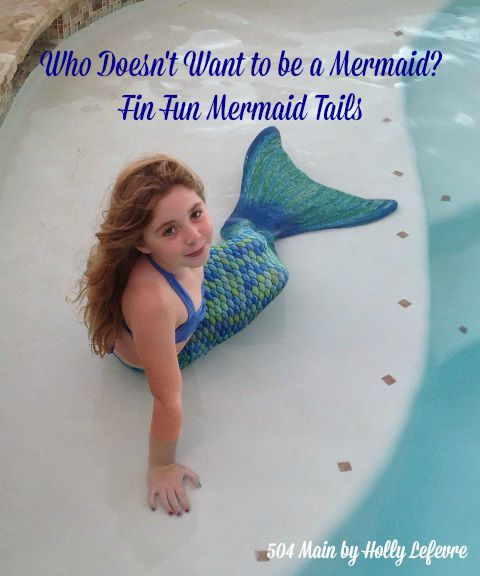 Anyone can be a mermaid!