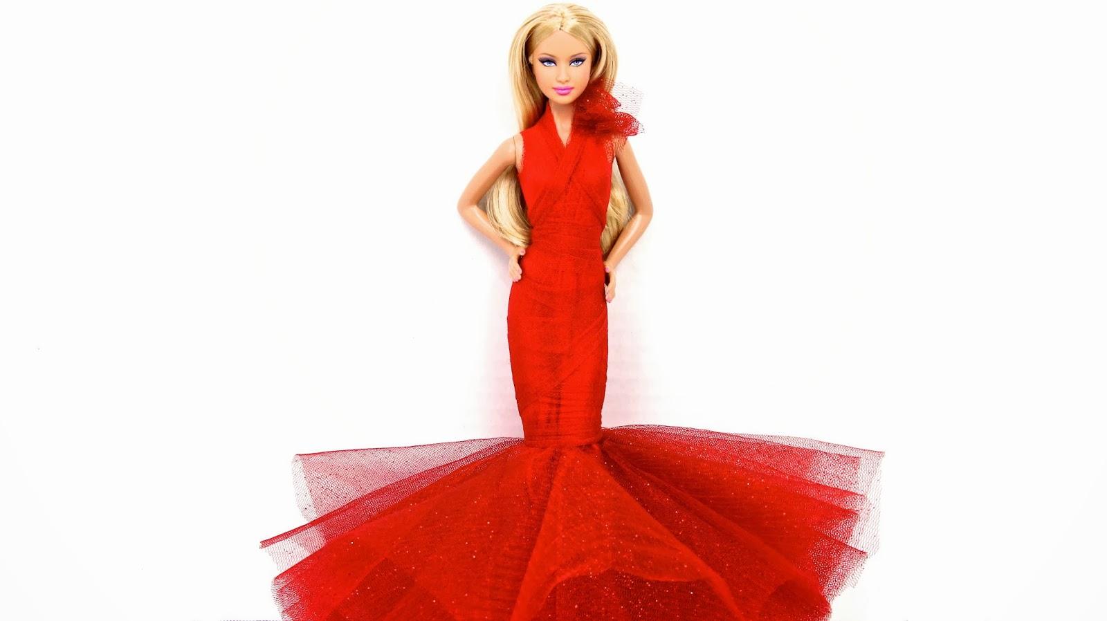 Barbie Doll Simple Dresses