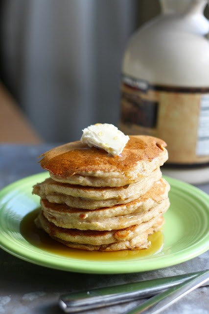 Pancakes de manzana y canela. Apple cinnamon pancakes
