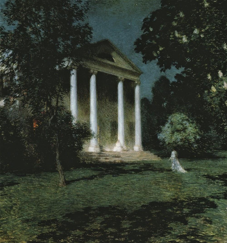 Herb Chambers Boston >> Willard Leroy Metcalf   The Ten American painters Group ...