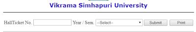 Vikrama Simhapuri University Results 2018 Declared PG Diploma/MA/M.Sc