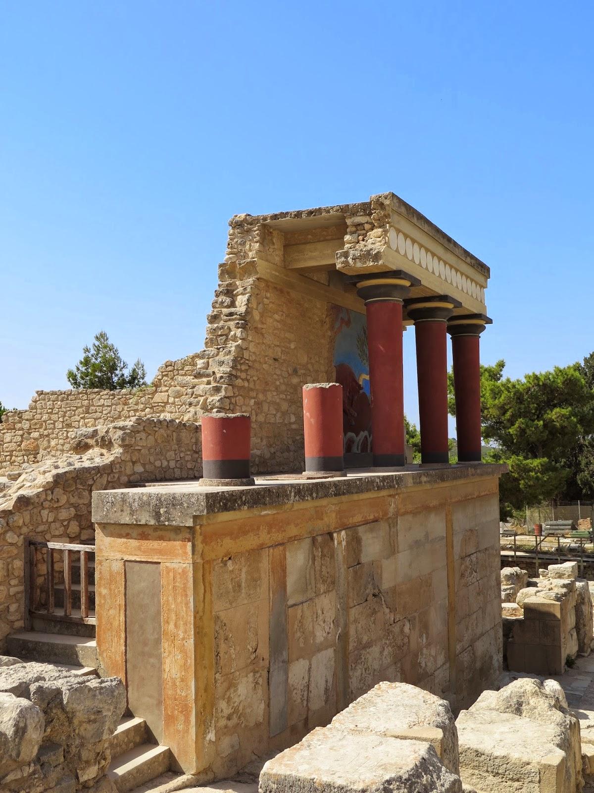 Sentir con Flores de Bach  Pilar Vidal Clavera El palacio de Cnosos en Creta
