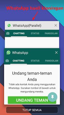 WhatsApp adalah aplikasi berbasis komunikasi yang hanya dapat membuat satu akun WhatsApp s Cara Install atau Membuat 2 Akun WhatsApp Dalam 1 HP Android