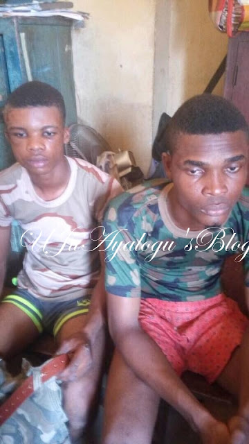 Two Fake Soldiers Wearing Camouflage Arrested By Nigerian Army In Delta