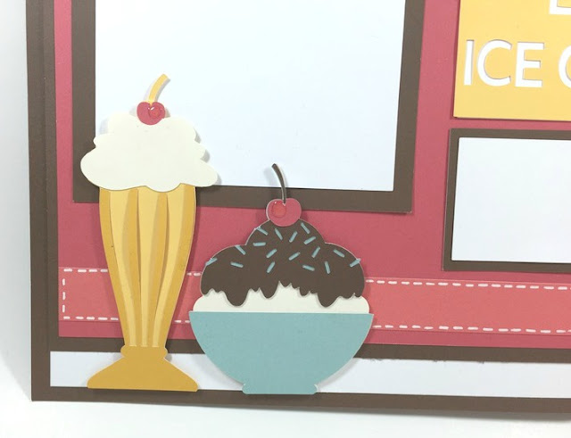 Keep calm ice cream layout