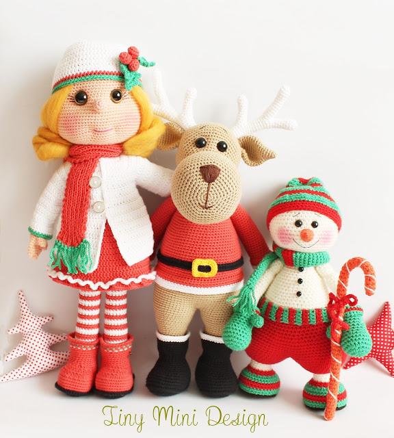 Amigurumi Ren Geyiği Ollie- Amigurumi Reindeer Ollie