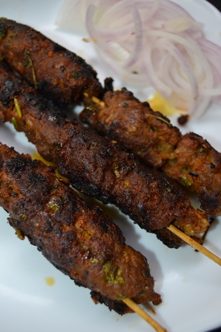 how to make keema kabab