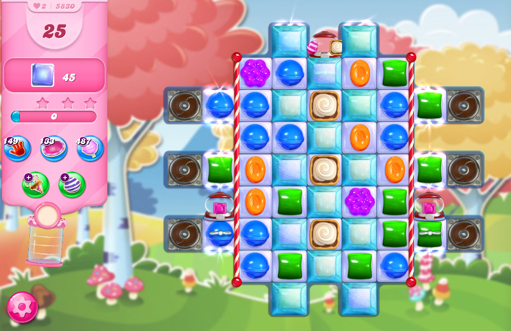 Candy Crush Saga level 5830