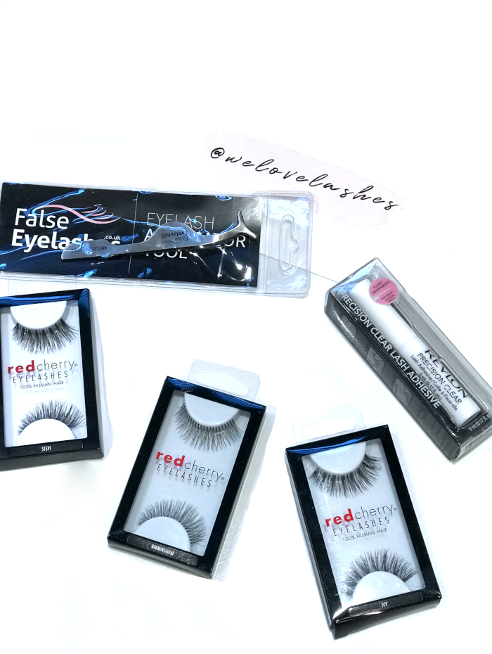 eyelashes, red cherry, false eyelashes, beauty, review, gifted
