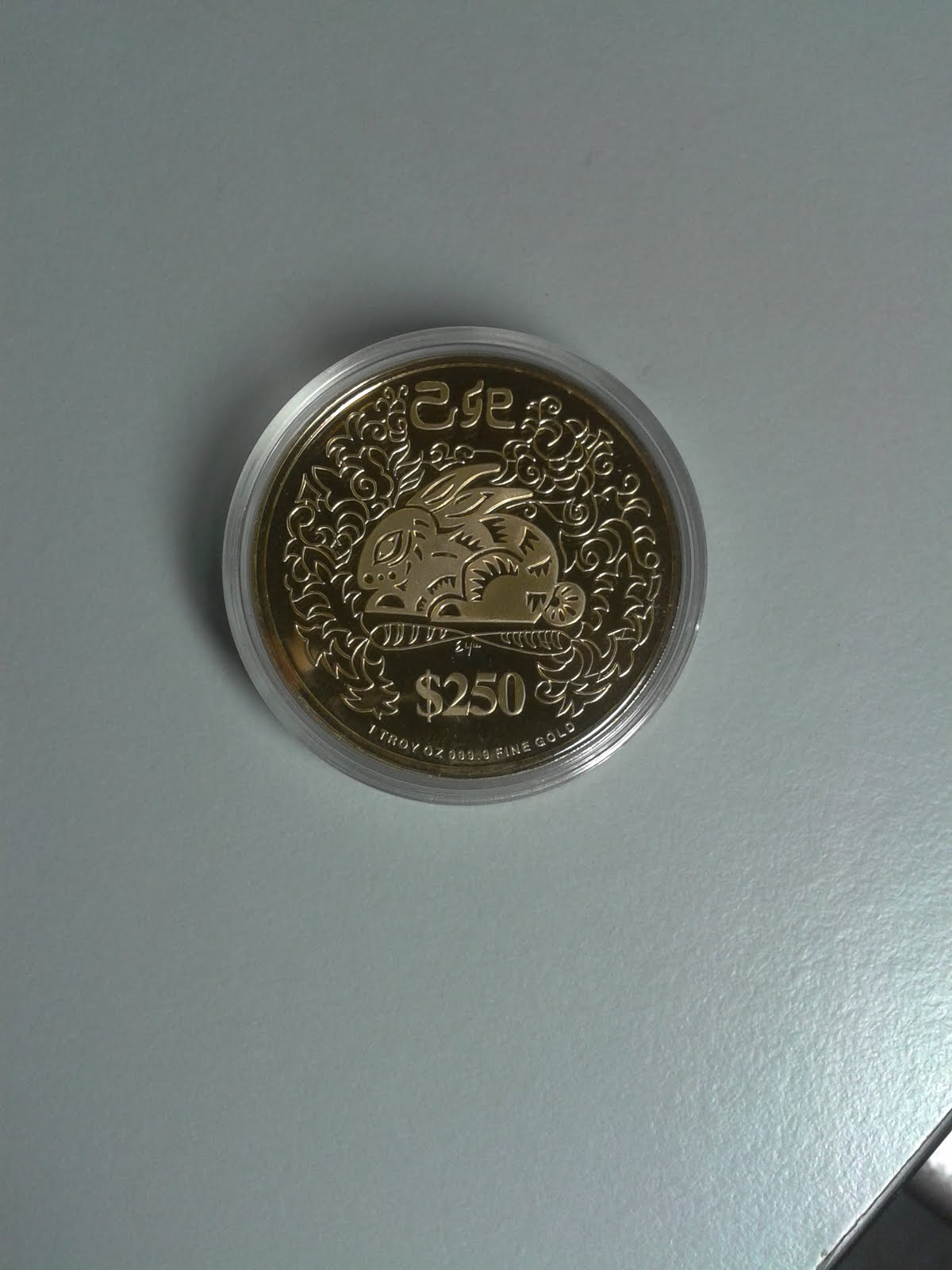 Coins Collection: SINGAPORE GOLD COINS
