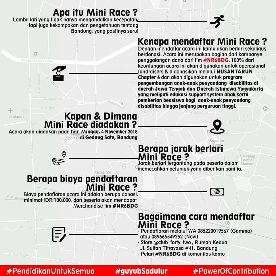 Mini Race for NusantaRun 6 Orienteering 2018