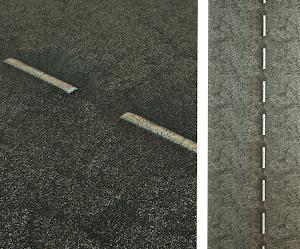 Estrada de asfalto - PBR