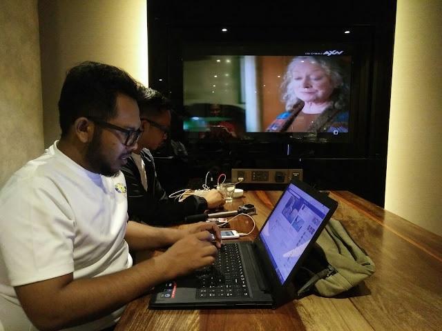 Internet yang berkelajuan tinggi di Plaza Premium Lounge (PPL) KLIA2