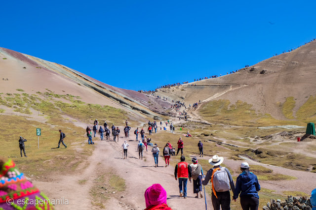 The long and tiring journey to the Rainbow Mountain of Peru