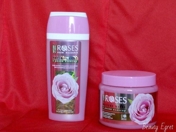 косметика из розы для волос из Болгарии