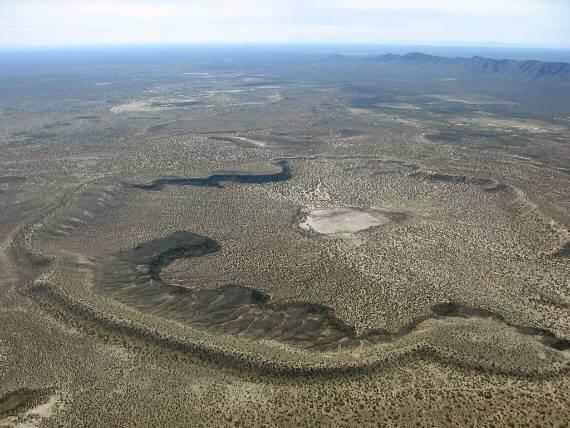 Aerial photo of Kilbourne Hole by Akanawa, CC BY-SA 3.0