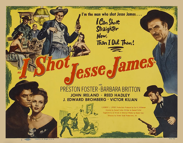 Image result for images of 1949 movie I shot jesse james