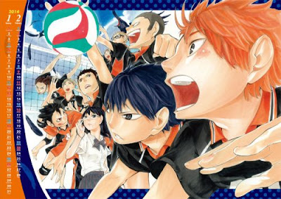 Karasuno Volleyball Club from Haikyuu!!