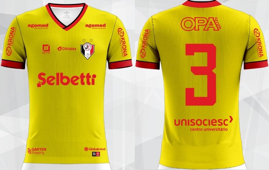 f3bdcf4ee9 Joinville terá camisa em homenagem à Seleção Brasileira - Show de ...
