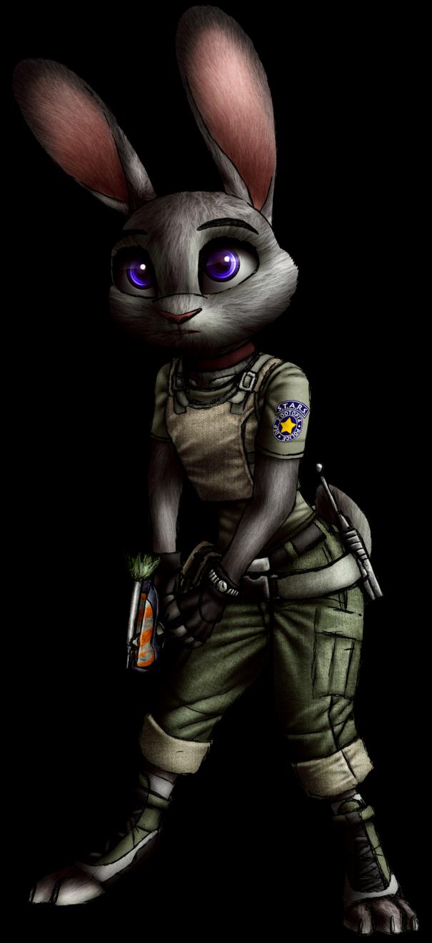 Zootopia X Resident Evil - Judy Hopps render