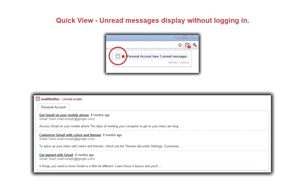 Gmail auto login