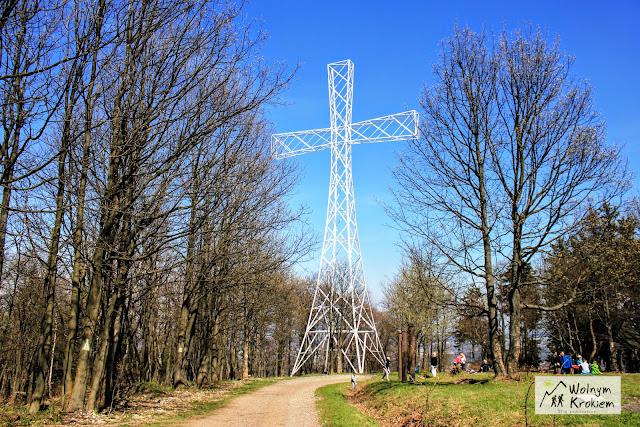 Chełmiec krzyż na szczycie
