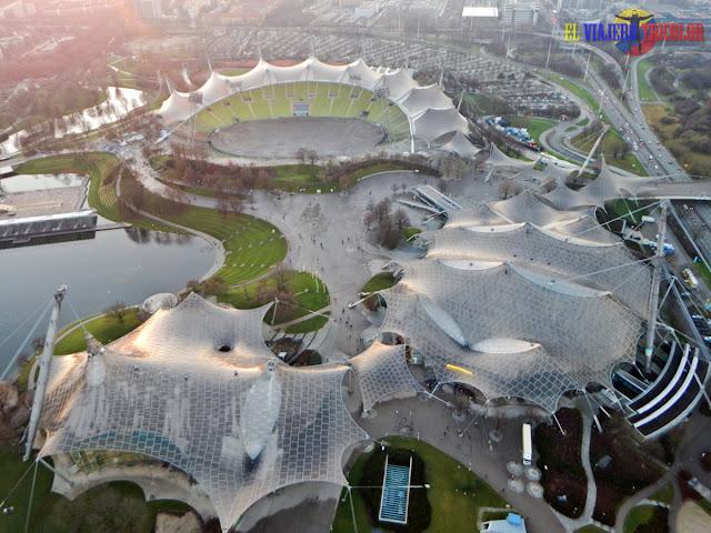 Vistas Parque Olímpico desde la Torre Olímpica
