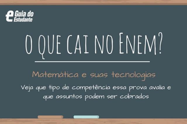 Enem: O que cai na prova de Matemática e suas Tecnologias?